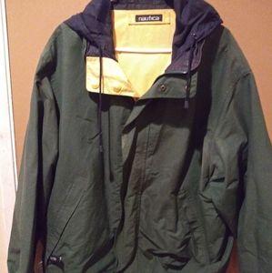 Nautica Reversible Jacket Vintage XL